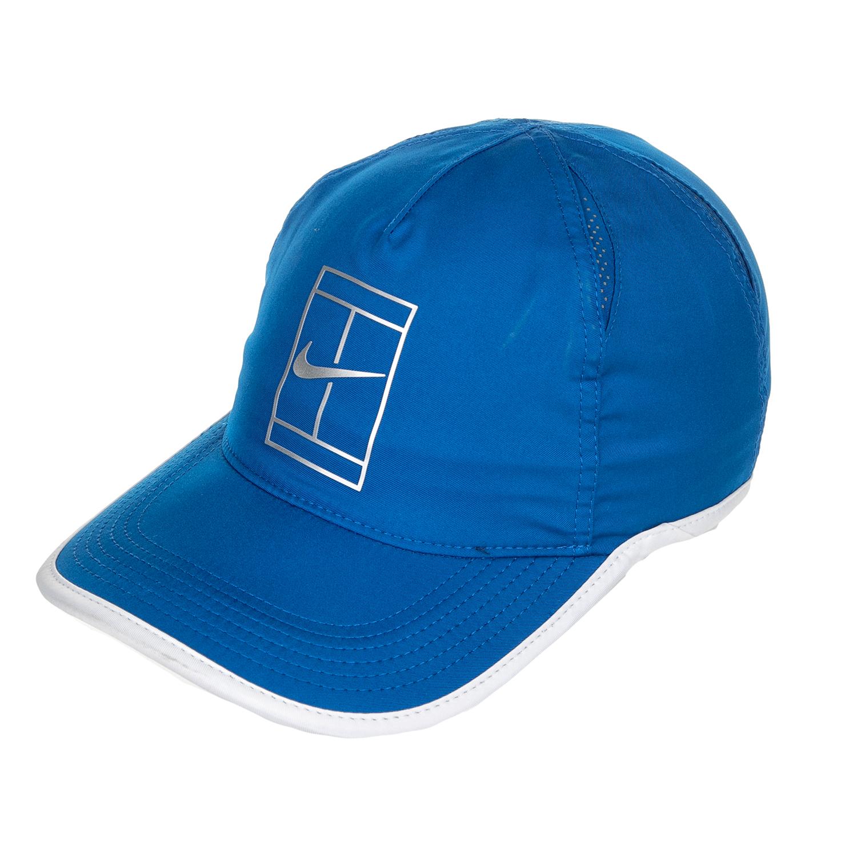 NIKE - Unisex καπέλο Nike AROBILL FTHRLT CAP COURT μπλε γυναικεία αξεσουάρ καπέλα αθλητικά