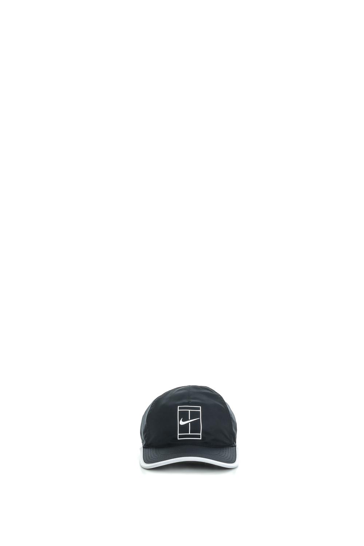 NIKE - Unisex καπέλο Nike AROBILL FTHRLT CAP COURT μαύρο γυναικεία αξεσουάρ καπέλα αθλητικά