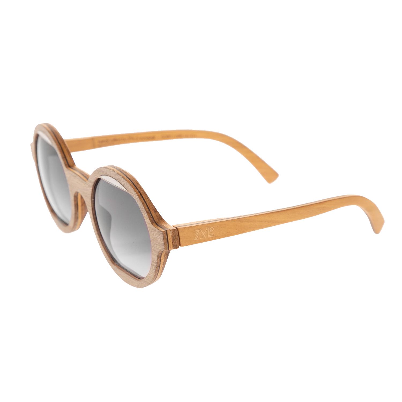 ZYLO - Unisex ξύλινα γυαλιά ηλίου ZYLO GOBY Grey μπεζ