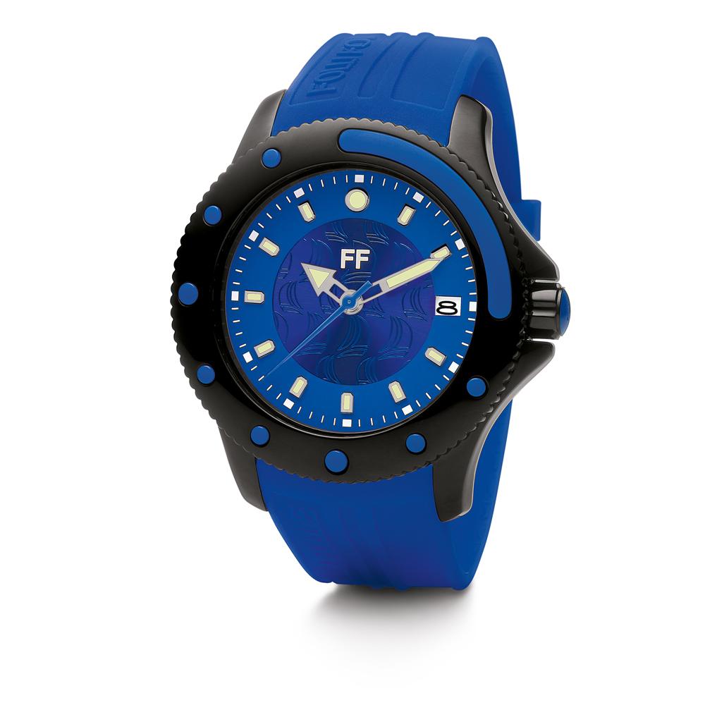 FOLLI FOLLIE - Γυναικείο ρολόι Folli Follie μπλε γυναικεία αξεσουάρ ρολόγια αθλητικά