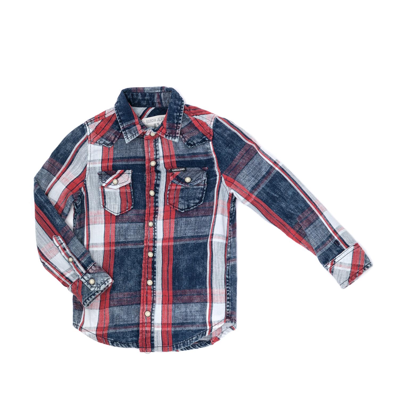GARCIA JEANS - Παιδικό πουκάμισο GARCIA JEANS καρό παιδικά boys ρούχα πουκάμισα