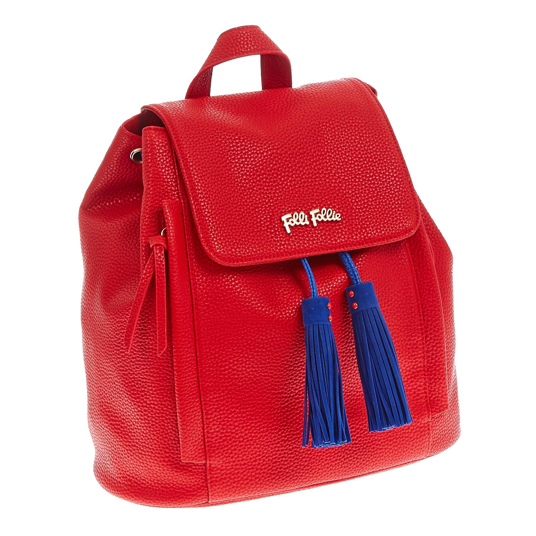 8e69b712cef FOLLI FOLLIE - Τσάντα πλάτης Folli Follie κόκκινη, Γυναικείες ...