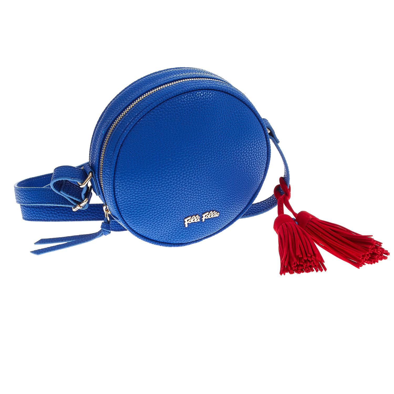 FOLLI FOLLIE - Γυναικεία τσάντα χιαστί Folli Follie μπλε γυναικεία αξεσουάρ τσάντες σακίδια χιαστή   cross body