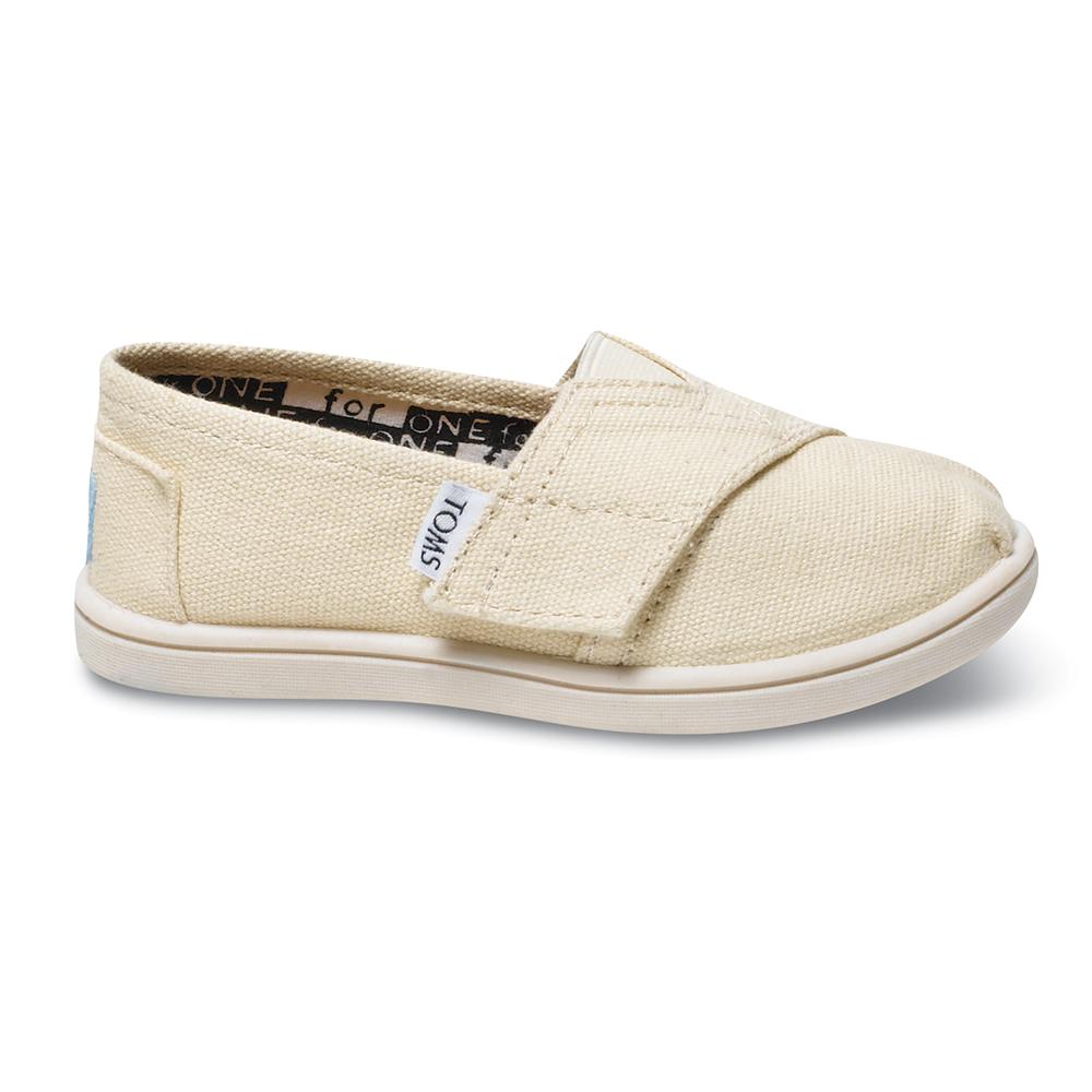 efaf050f95f TOMS - Βρεφικά slip-ons TOMS ALPARGATA μπεζ ⋆ EliteShoes.gr