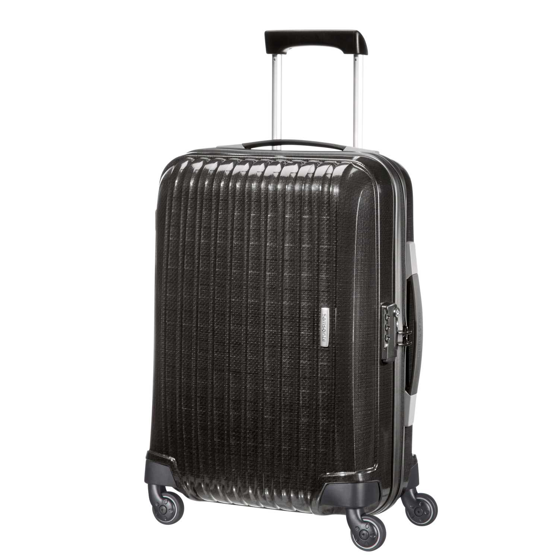 SAMSONITE - Βαλίτσα καμπίνας CHRONOLITE SPINNER 55/20 μαύρη γυναικεία αξεσουάρ είδη ταξιδίου βαλίτσες καμπίνας