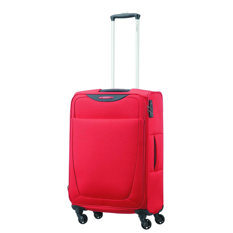 SAMSONITE - Βαλίτσα μεσαίου μεγέθους BASE HITS SPINNER 66/24 κόκκινη γυναικεία αξεσουάρ είδη ταξιδίου βαλίτσες μεσαίες