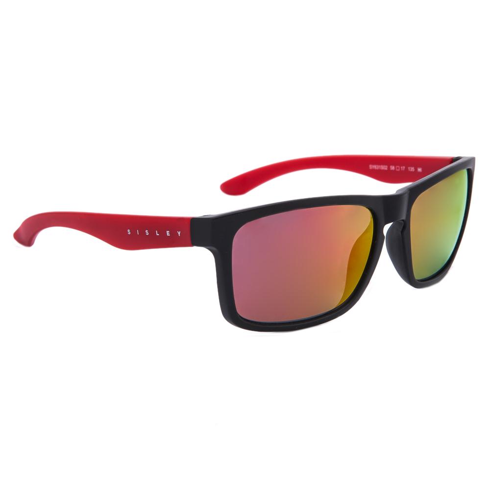 SISLEY - Ανδρικά γυαλιά ηλίου Sisley μαύρα ανδρικά αξεσουάρ γυαλιά ηλίου