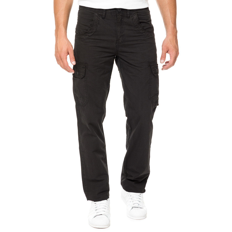 CATAMARAN SAILWEAR - Ανδρικό cargo παντελόνι CATAMARAN SAILWEAR μαύρο ανδρικά ρούχα παντελόνια cargo