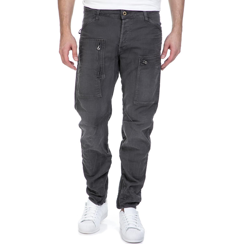 G-STAR RAW - Ανδρικό τζιν παντελόνι G-Star Raw Powel 3D Tapered COJ γκρι ανδρικά ρούχα τζίν straight