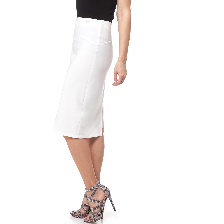 GUESS - Γυναικεία φούστα Guess λευκή 506c37e7f07