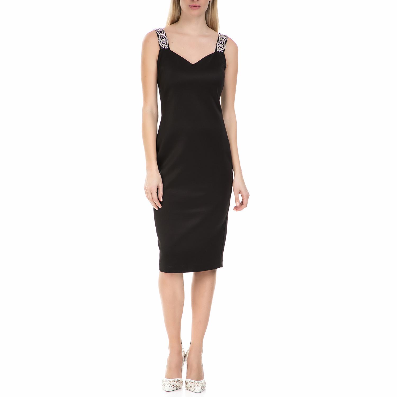 TED BAKER - Midi φόρεμα Ted baker Mally Bodycon μαύρο