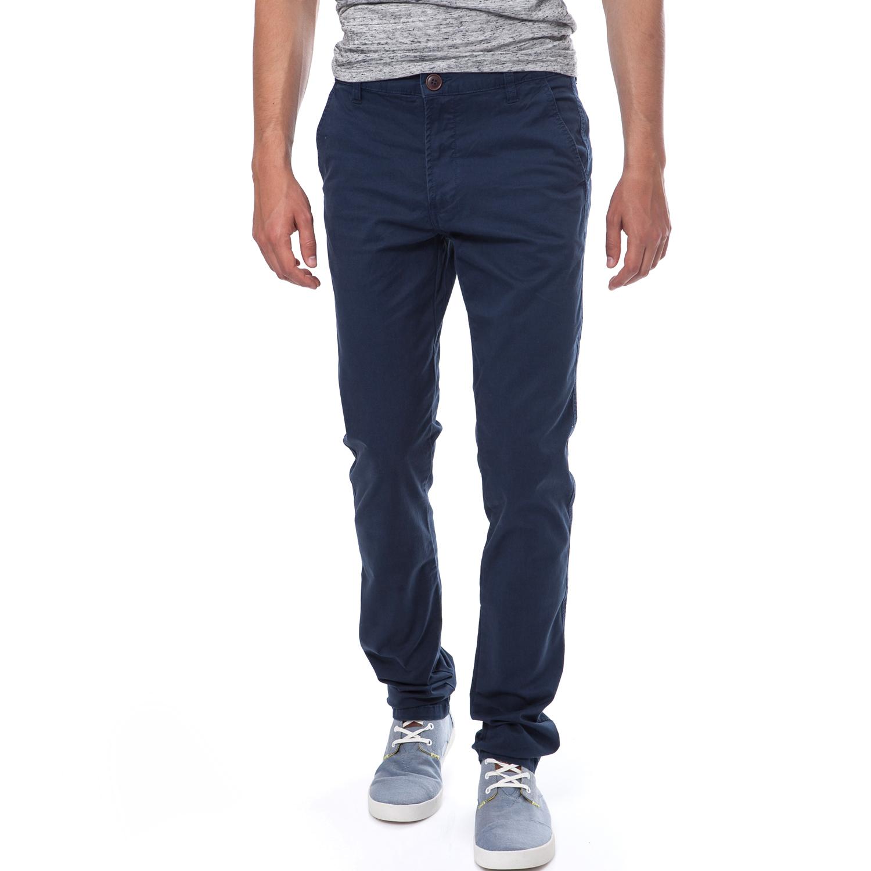 BATTERY - Ανδρικό παντελόνι Battery μπλε ανδρικά ρούχα παντελόνια chinos