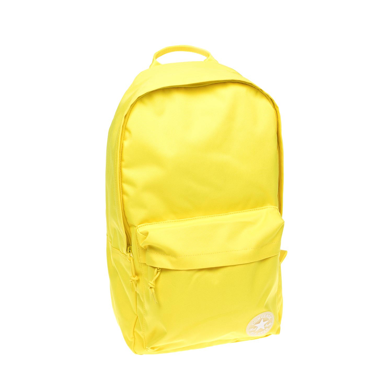 CONVERSE - Σακίδιο πλάτης CONVERSE κίτρινο ανδρικά αξεσουάρ τσάντες σακίδια πλάτης