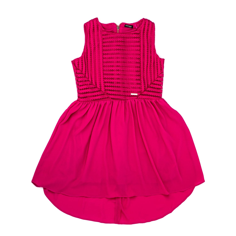 155a53fa835 GUESS KIDS - Παιδικό αμάνικο φόρεμα Guess Kids φούξια