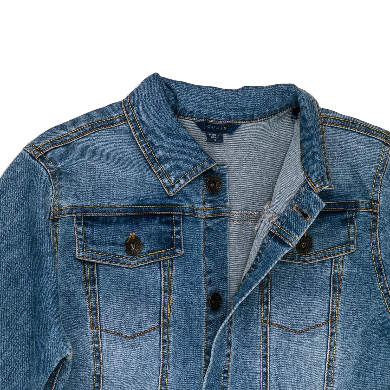 efcf2ade317 GUESS KIDS - Παιδικό τζιν μπουφάν Guess Kids μπλε, ΠΑΙΔΙ | ΡΟΥΧΑ | ΠΑΝΩΦΟΡΙΑ