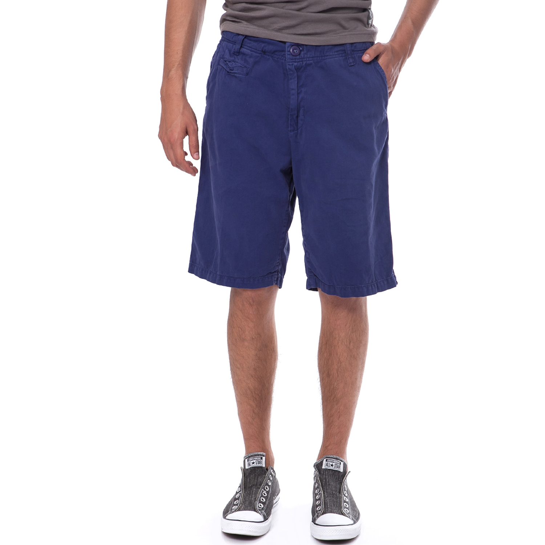 DONDERS - Ανδρική βερμούδα Donders μπλε ανδρικά ρούχα σορτς βερμούδες casual jean