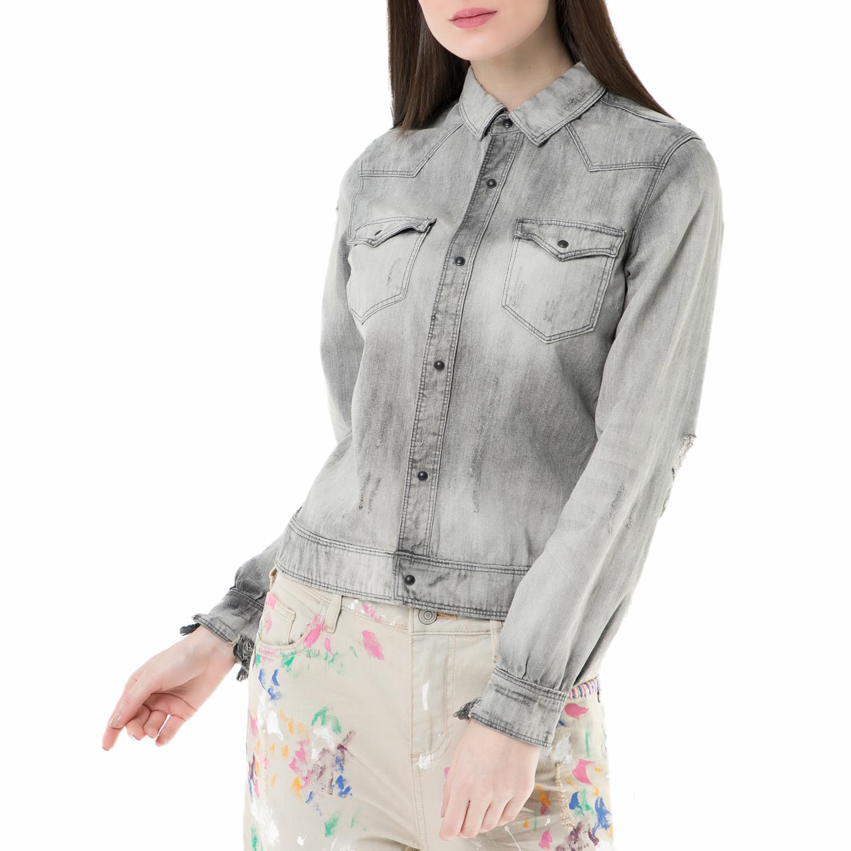 2008e889fc9c -41% SCOTCH   SODA – Γυναικείο μακρυμάνικο πουκάμισο SCOTCH ...