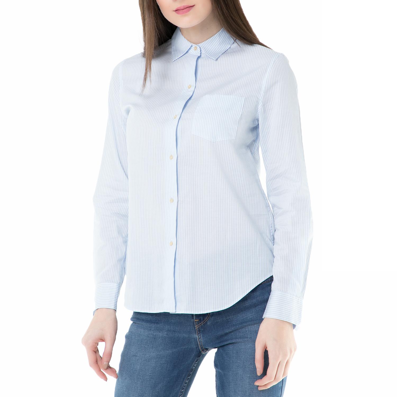 211208b603e2 SCOTCH   SODA - Γυναικείο ριγέ πουκάμισο Scotch   Soda Relaxed fit ...