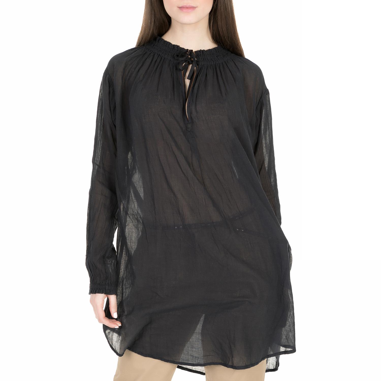 SCOTCH & SODA - Γυναικεία πουκαμίσα Scotch & Soda Home Alone cotton voile shirt  γυναικεία ρούχα πουκάμισα πουκαμίσες