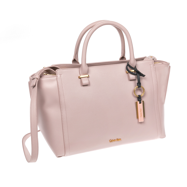 CALVIN KLEIN JEANS - Γυναικεία τσάντα CALVIN KLEIN JEANS ροζ 5c369ce25b2