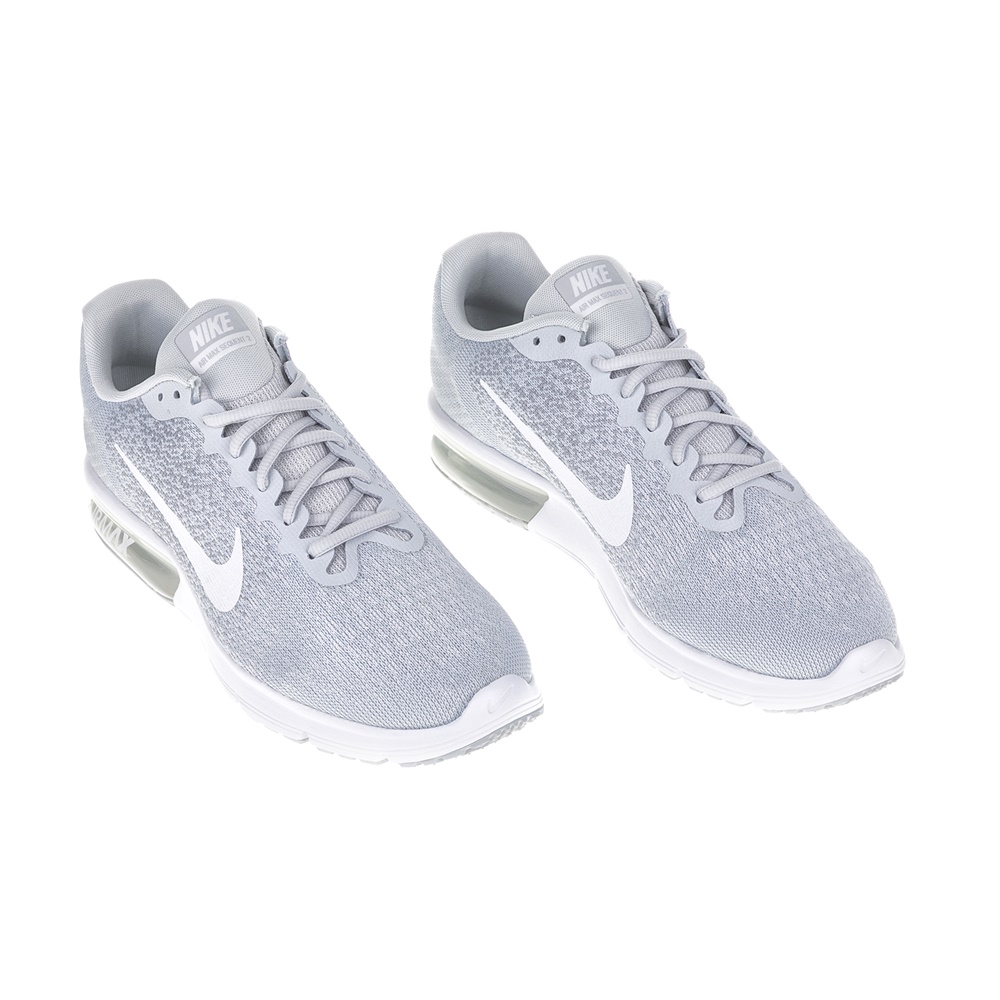 079b27b6690 NIKE - Ανδρικά αθλητικά παπούτσια NIKE AIR MAX SEQUENT 2 γκρι-λευκά,  Ανδρικά παπούτσια τρεξίματος, ΑΝΔΡΑΣ | ΠΑΠΟΥΤΣΙΑ | ΤΡΕΞΙΜΑΤΟΣ