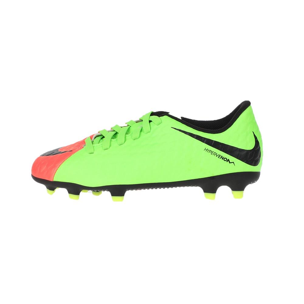 NIKE – Παιδικά παπούτσια ποδοσφαίρου JR HYPERVENOM PHADE III FG πράσινο