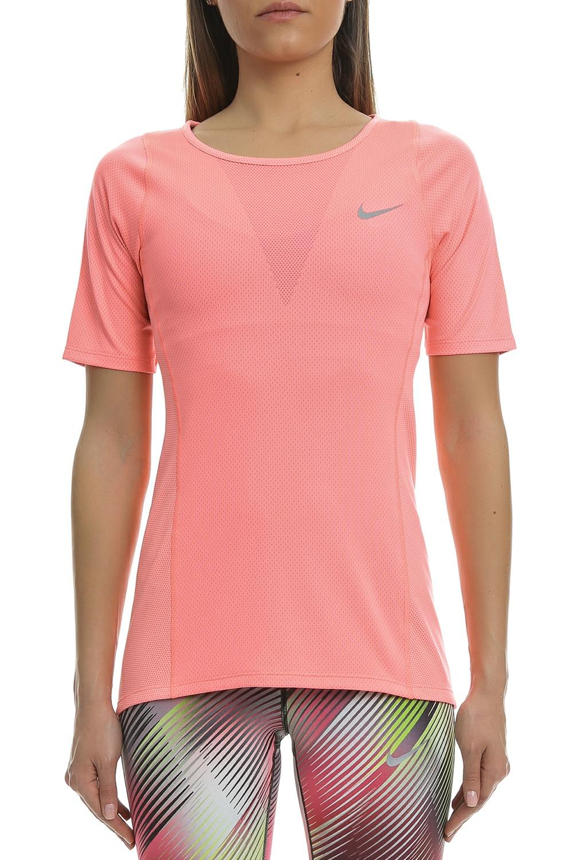 NIKE - Γυναικεία κοντομάνικη μπλούζα Nike ροζ γυναικεία ρούχα αθλητικά t shirt τοπ