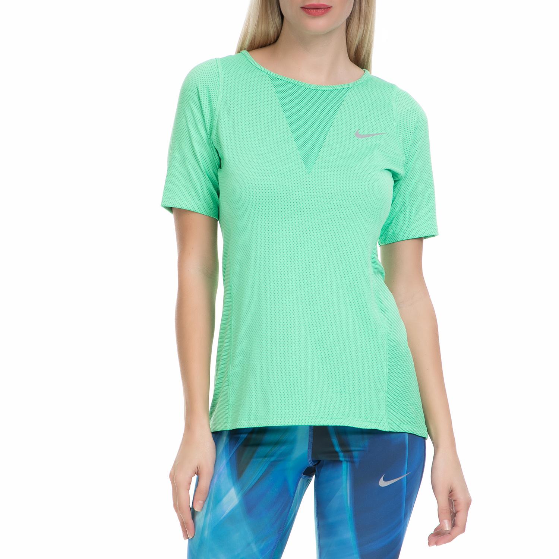 NIKE - Γυναικεία αθλητική μπλούζα ΝΙΚΕ ZNL CL RELAY TOP πράσινη