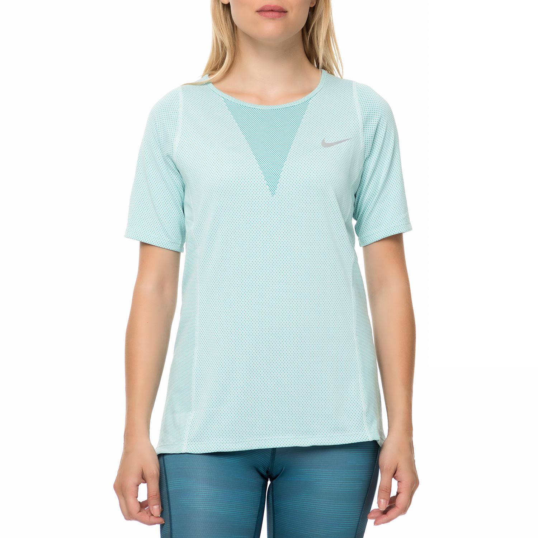 NIKE - Γυναικεία κοντομάνικη μπλούζα Nike γαλάζια 124cbe4f950