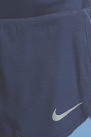 NIKE-Γυναικείο σορτς για τρέξιμο Nike FLX 2IN1 SHORT RIVAL μπλε