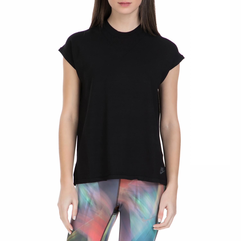 NIKE - Γυναικεία κοντομάνικη μπλούζα Nike μαύρη γυναικεία ρούχα αθλητικά t shirt τοπ