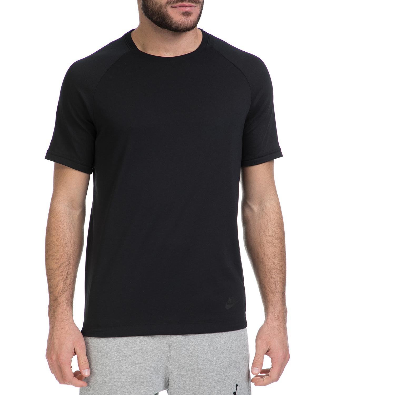 NIKE - Ανδρική αθλητική μπλούζα ΝΙΚΕ NSW BND TOP SS μαύρη ανδρικά ρούχα αθλητικά t shirt
