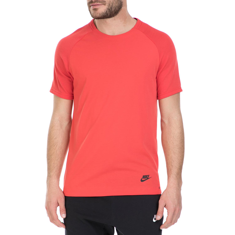 NIKE - Κοντομάνικη μπλούζα Nike κόκκινη ανδρικά ρούχα αθλητικά t shirt