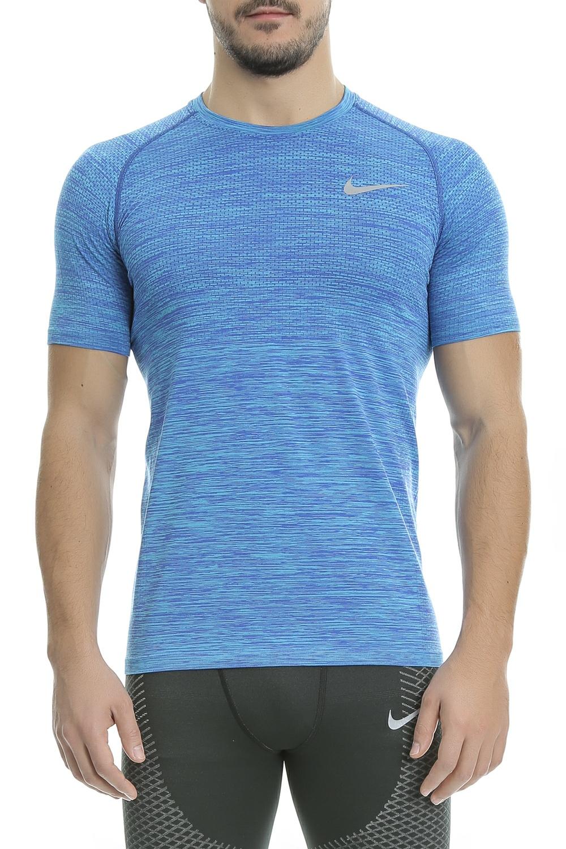NIKE - Αθλητική κοντομάνικη μπλούζα Nike μπλε ανδρικά ρούχα αθλητικά t shirt