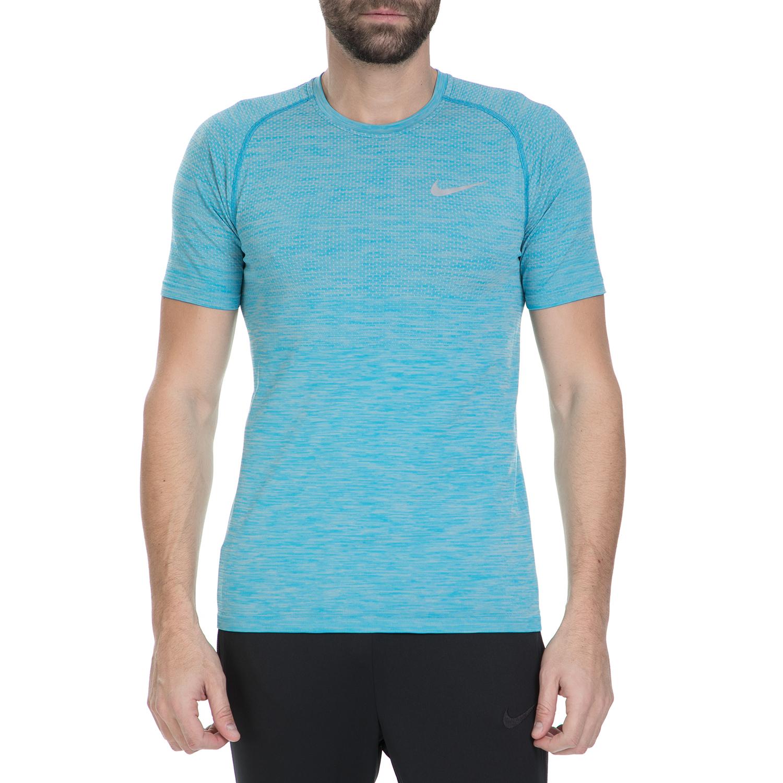 NIKE - Ανδρική αθλητική κοντομάνικη μπλούζα Nike DF KNIT TOP SS μπλε