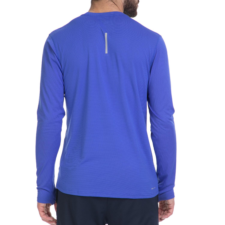 ef697d04e764 NIKE - Ανδρική αθλητική μπλούζα NΙKΕ ZNL CL RELAY TOP LS μπλε ...