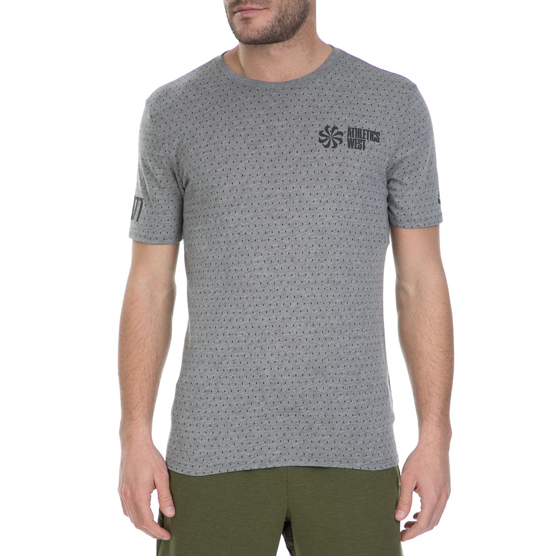 6c28a0799ef7 NIKE - Ανδρική κοντομάνικη μπλούζα Nike γκρι