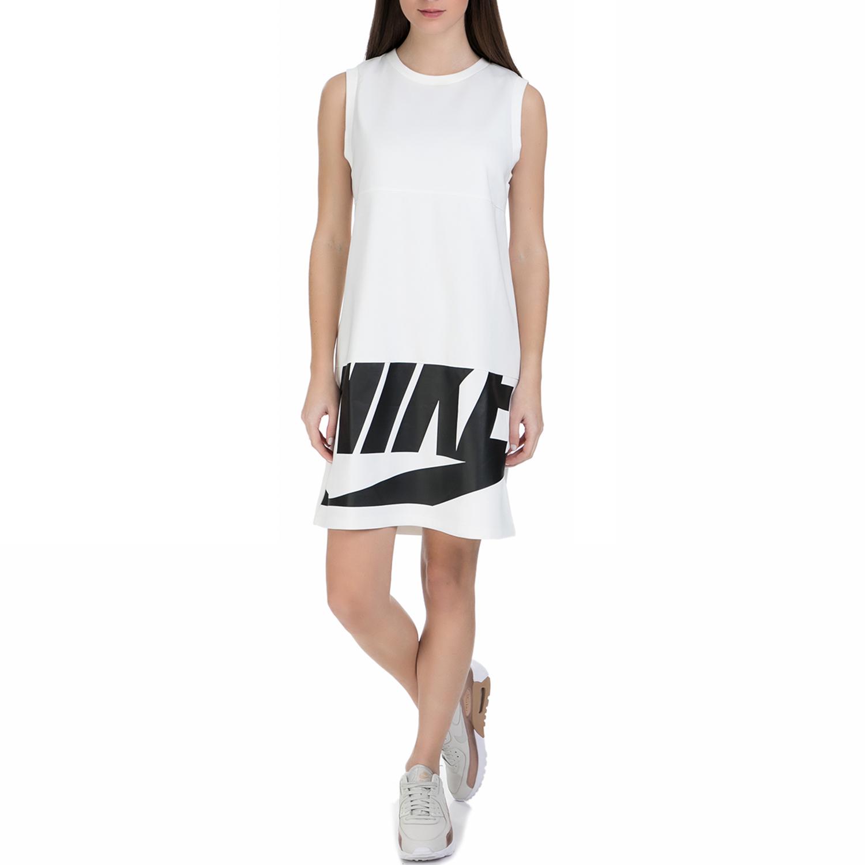 NIKE - Γυναικείο μίνι αμάνικο φόρεμα Nike Sportswear λευκό γυναικεία ρούχα φορέματα μίνι