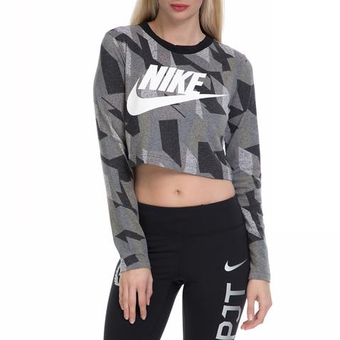 c780c897f5 Γυναικεία αθλητική μπλούζα ΝΙΚΕ NSW TOP LS SKYSCRAPER γκρι - NIKE  (1513033.1-7394)