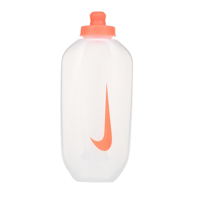 NIKE ACCESSORIES - Παγούρι νερού NIKE λευκό- πορτοκαλί γυναικεία αξεσουάρ αθλητικά είδη εξοπλισμός