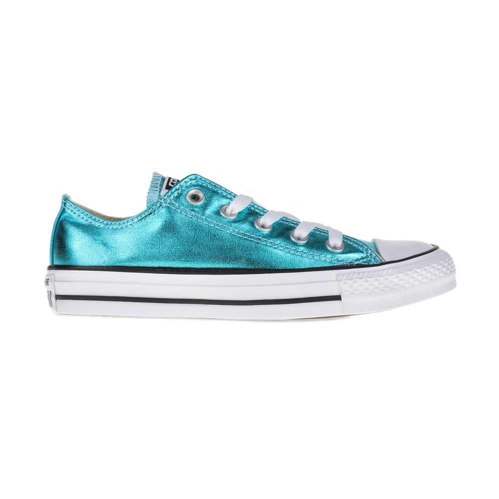 CONVERSE – Unisex sneakers Chuck Taylor All Star II Ox μεταλλικό μπλε