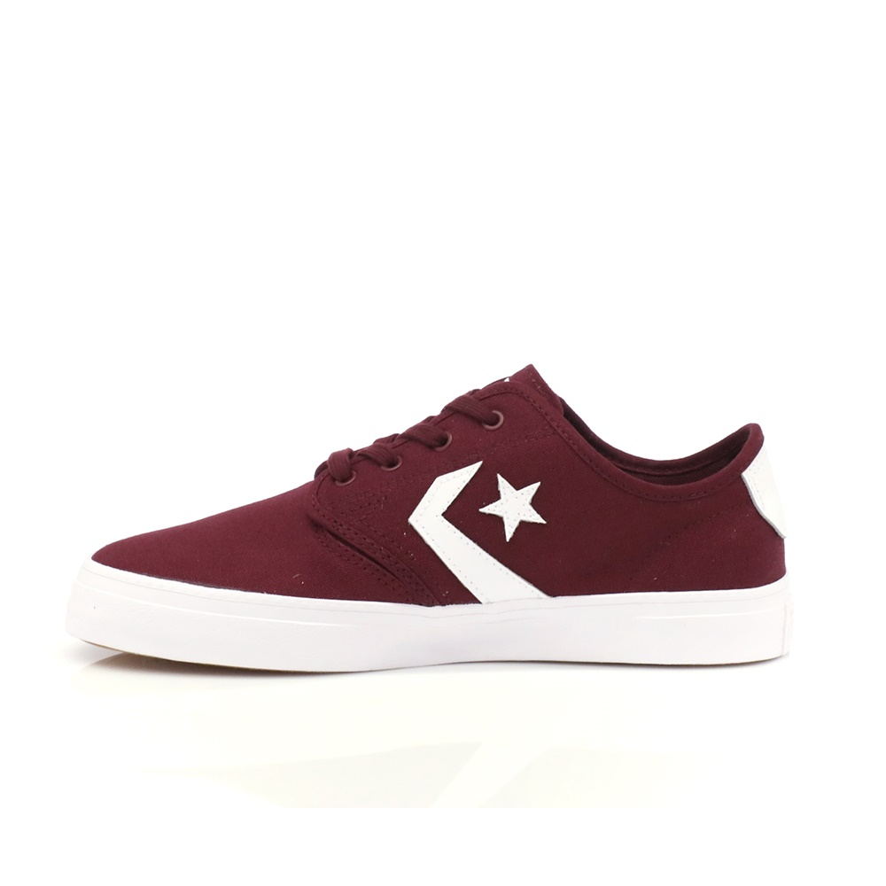 CONVERSE – Unisex παπούτσια Cons Zakim Ox μπορντώ