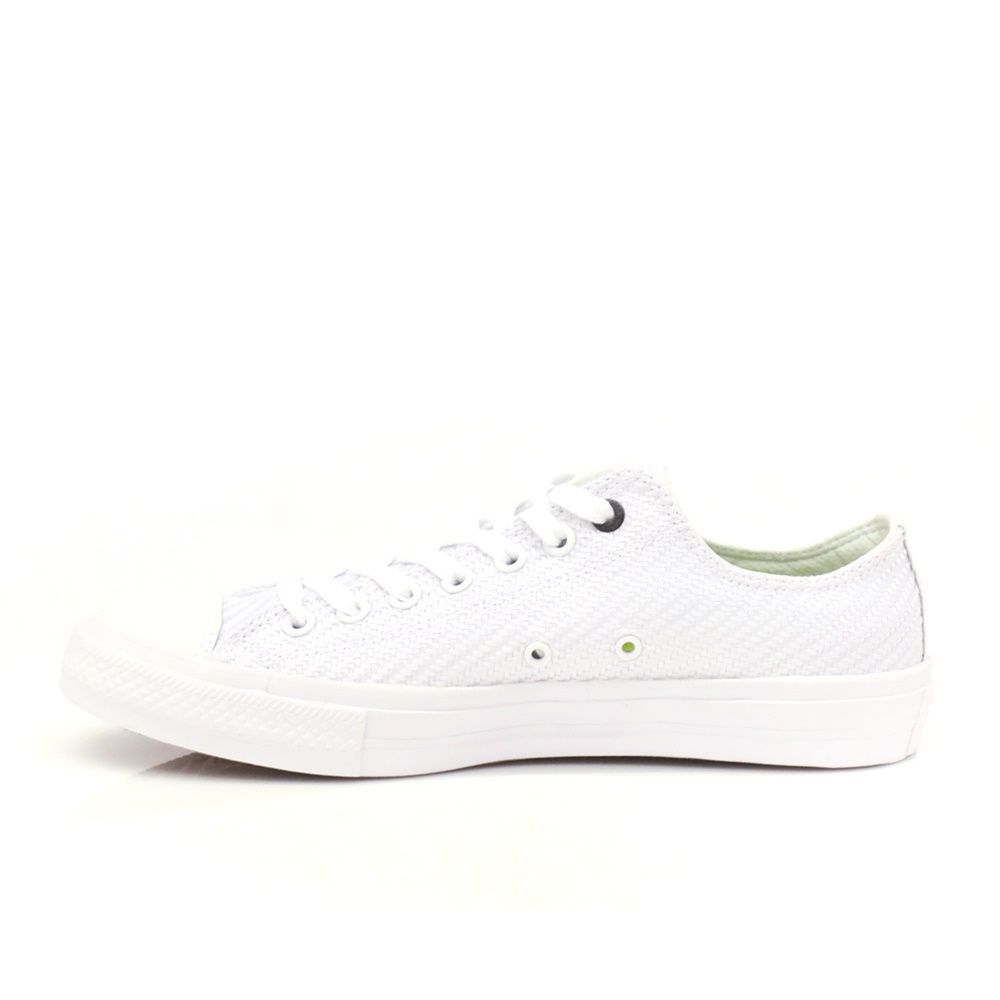 CONVERSE – Unisex Chuck Taylor All Star II Ox λευκά