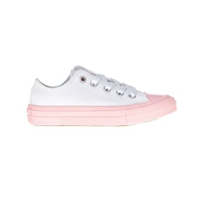 low priced 0ff93 43624 CONVERSE. Παιδικά παπούτσια Chuck Taylor All Star II Ox άσπρα-ροζ