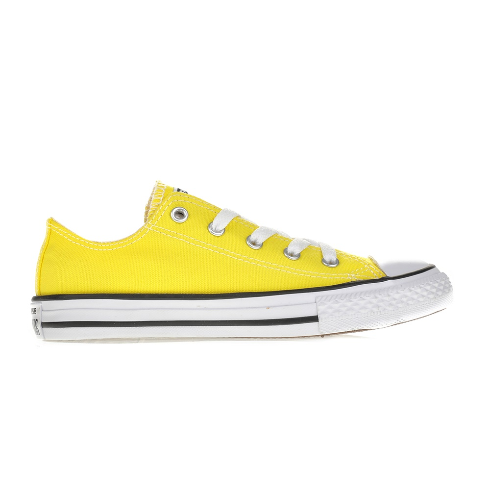 CONVERSE – Παιδικά sneakers CONVERSE Chuck Taylor All Star Ox κίτρινα