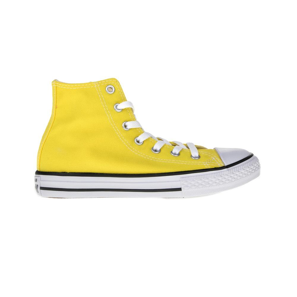 18b68b6966 Factoryoutlet CONVERSE – Παιδικά μποτάκια Chuck Taylor All Star Hi κίτρινα