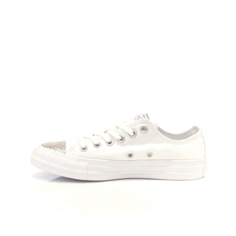 CONVERSE – Γυναικεία παπούτσια Chuck Taylor All Star Ox λευκά