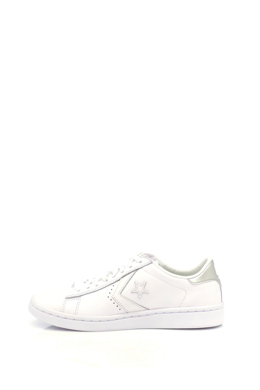 CONVERSE – Γυναικεία παπούτσια Pro Leather Metallic Ox λευκά