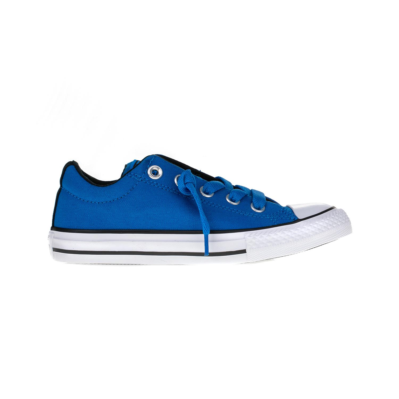 CONVERSE - Παιδικά παπούτσια Chuck Taylor All Star Street S μπλε παιδικά girls παπούτσια sneakers