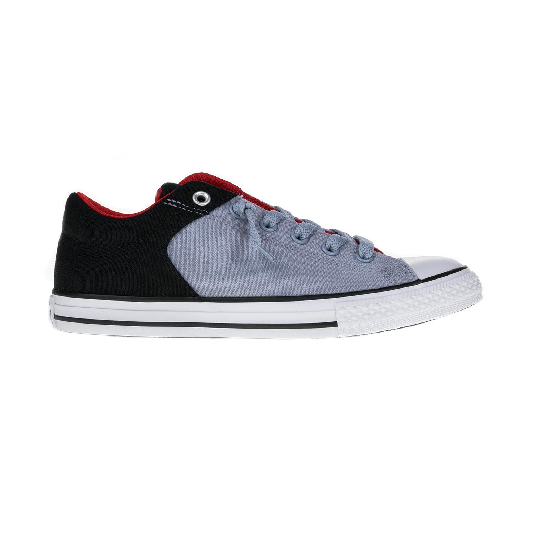 CONVERSE – Παιδικά παπούτσια Chuck Taylor All Star High Str γκρι-μαύρα 70d2bff676b